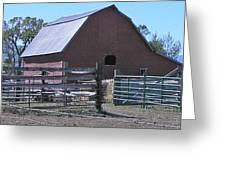 Paradise Valley Farm Montana Greeting Card