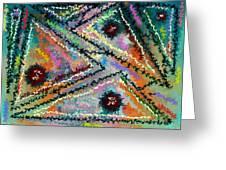 Parallel Axiom Greeting Card