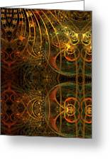 Parallel Visions Of Time   Greeting Card