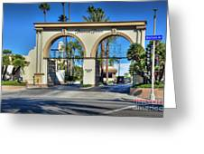 Paramount Pictures Melrose Gate Greeting Card