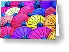 Parasols Greeting Card