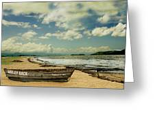 Paraty Beach, So. America Greeting Card