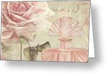 Parfum De Roses I Greeting Card