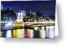 Paris At Night 22 Greeting Card