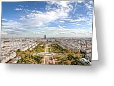 Paris City View 20 B Greeting Card