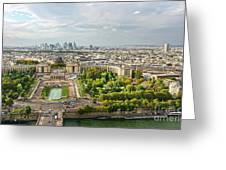 Paris City View 27 Greeting Card
