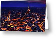Paris City View Greeting Card
