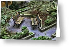 Paris Courtyard II Greeting Card
