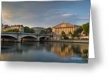 Paris Dawn Greeting Card