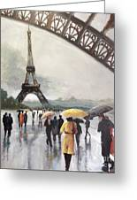 Paris Fog Greeting Card