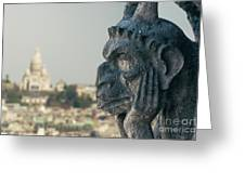 Gargoyle Of Paris Greeting Card