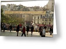 Paris Left Bank Greeting Card