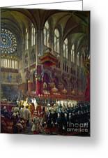 Paris: Notre Dame, 1841 Greeting Card