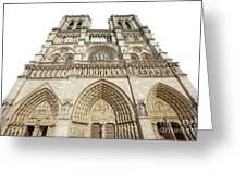 Paris Notre Dame Greeting Card