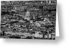Paris Pantheon Greeting Card