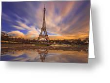 Paris Reflections Greeting Card