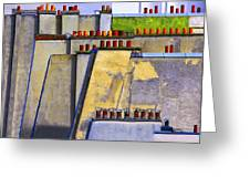 Paris Roof Tops 1 Greeting Card