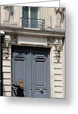 Paris Street Life 3 Greeting Card