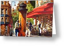 Paris, Street Musicians Greeting Card