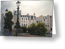 Paris Stroll Greeting Card