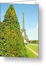 Paris Towers Greeting Card