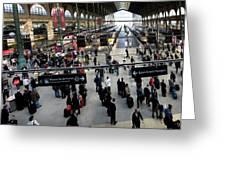 Paris Train Station Greeting Card