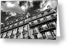 Parisian Buildings Greeting Card