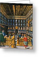 Parisian Pharmacy, 1624 Greeting Card