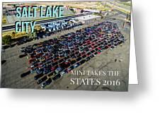 Park / Salt Lake City Rise/shine 1 W/text Greeting Card