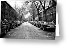 Park Slope Street Light Greeting Card