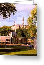 Park University Greeting Card by Steve Karol