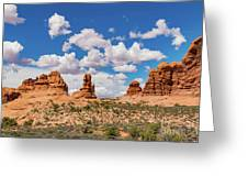 Arches Park National  Greeting Card