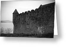 Parkes Castle County Leitrim Ireland Greeting Card