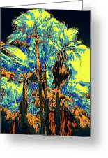 Parking Lot Palms 1 9 Greeting Card