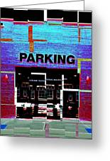 Parking Greeting Card