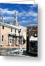 Parkville In Winter Greeting Card