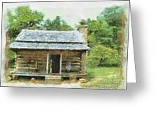 Parkway Cabin Greeting Card
