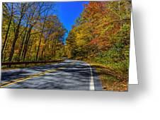 Parkway Road Nc Greeting Card