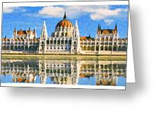 Parliament Of Budapest Greeting Card
