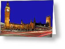 Parliament Square In London Greeting Card