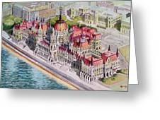 Parliment Of Hungary Greeting Card