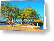 Parmer's Resort At Little Torch Key Greeting Card