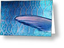 Parrotfish Scales Greeting Card
