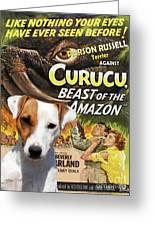 Parson Russell Terrier Art Canvas Print - Curucu  Movie Poster Greeting Card