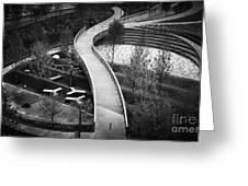 Parthenon Walk Greeting Card