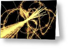 Particle Physics Experiment, Artwork Greeting Card