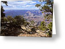 Partly Cloudy - Grand Canyon Greeting Card