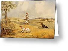 Partridge Shooting  Greeting Card