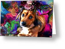 Party Animal Greeting Card by Delight Worthyn