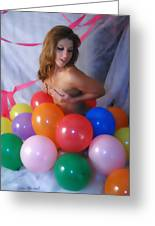 Party Balloon Greeting Card